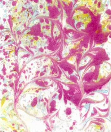 Marbled ink paper 4
