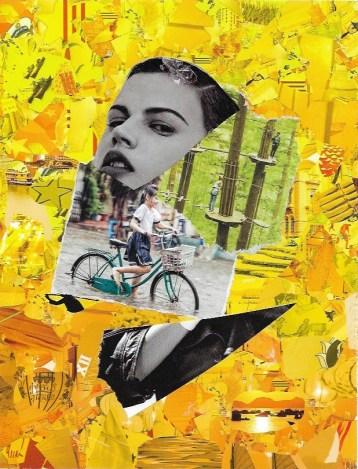 'Journey' A4 Mixed Media